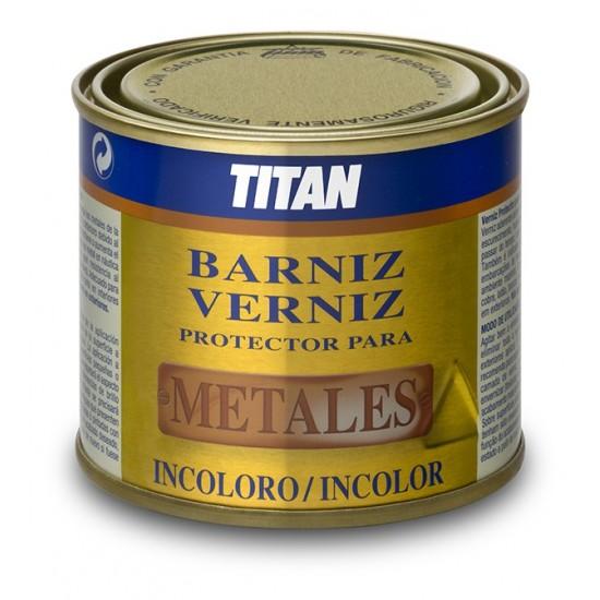 BARNIZ TITAN PROTECTOR METALES. Brillo
