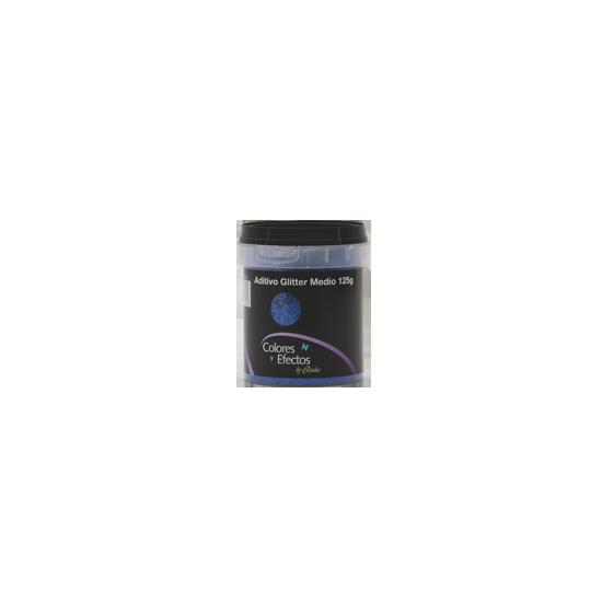 GLITTER en polvo azul