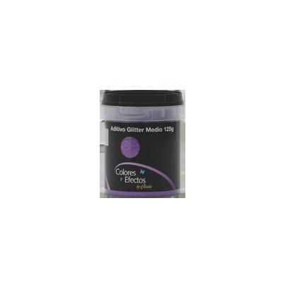 GLITTER en polvo purpura