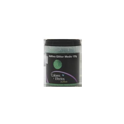 GLITTER en polvo verde