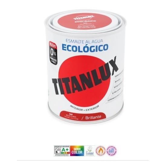 TITANLUX ESMALTE AL AGUA ECOLÓGICO. Brillo