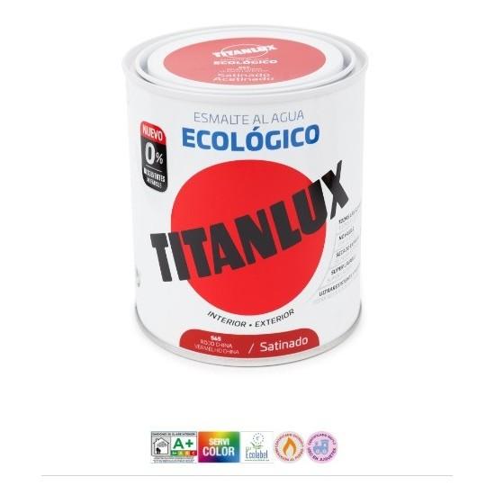TITANLUX ESMALTE AL AGUA ECOLÓGICO. Satinado