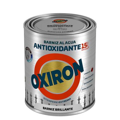 OXIRÓN al AGUA BARNIZ ANTIOXIDANTE