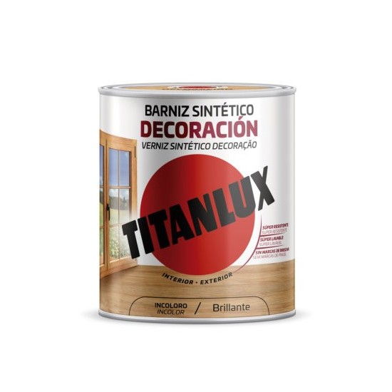 BARNIZ TITANLUX. Sintetico Brillante
