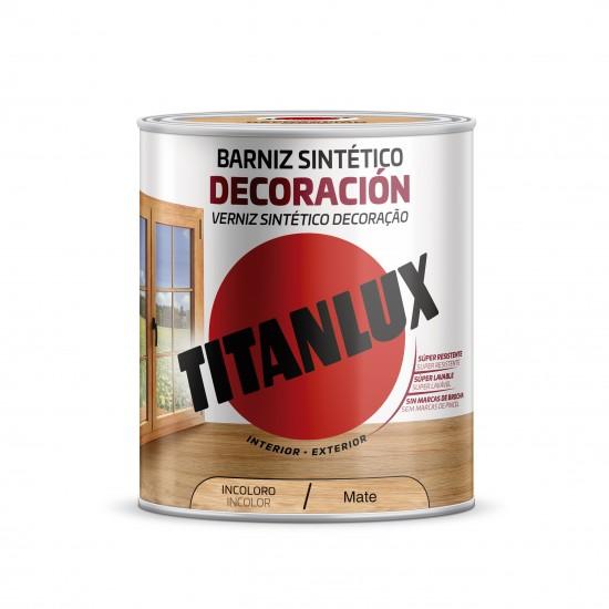 BARNIZ SINTETICO TITANLUX MATE