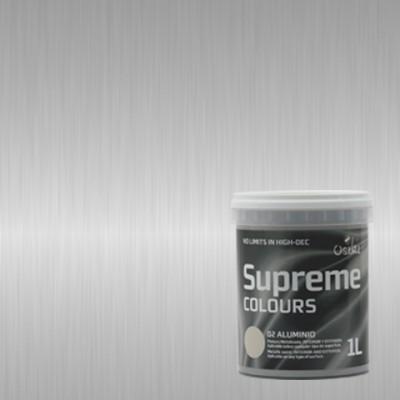 SUPREME. Pintura metalizada aluminio