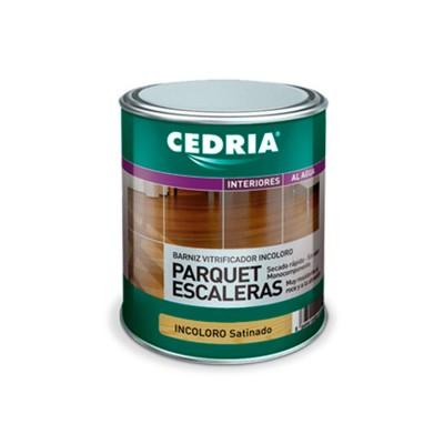CEDRIA BARNIZ PARQUET ESCALERAS. Al agua