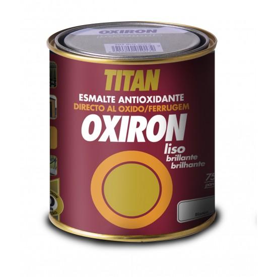OXIRÓN LISO. Esmalte antióxido Brillante