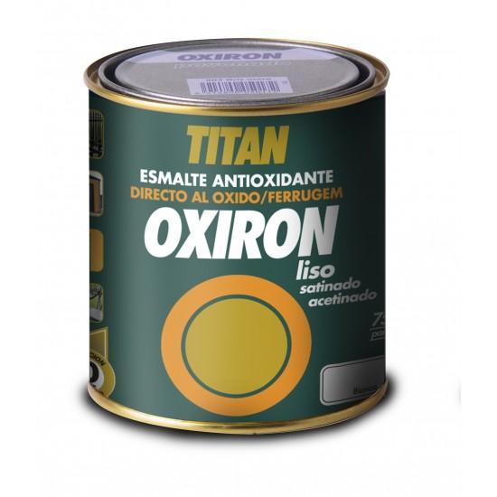OXIRÓN LISO. Esmalte antióxido Satinado