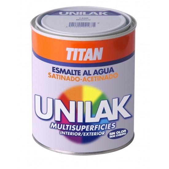 UNILAK. Esmalte laca al agua. Satinado
