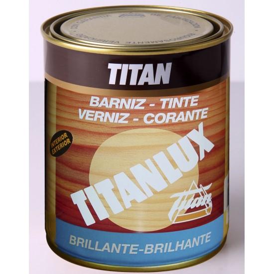 BARNIZ TINTE TITANLUX. Brillante