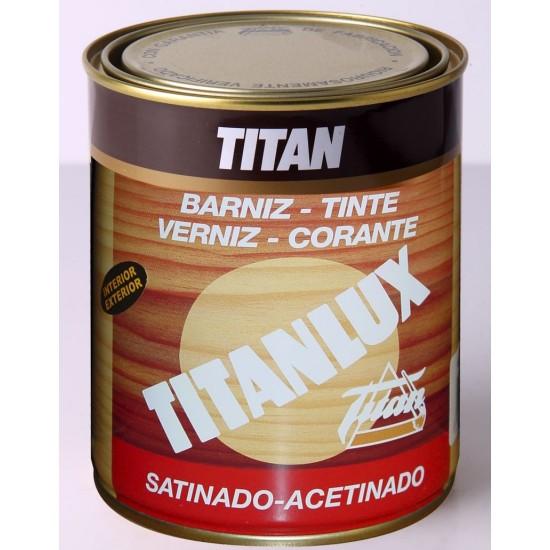 BARNIZ TINTE TITANLUX. Satinado