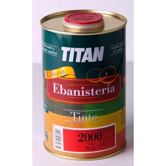 TINTE 2000 EBANISTERIA TITAN. Nitrocelulósico
