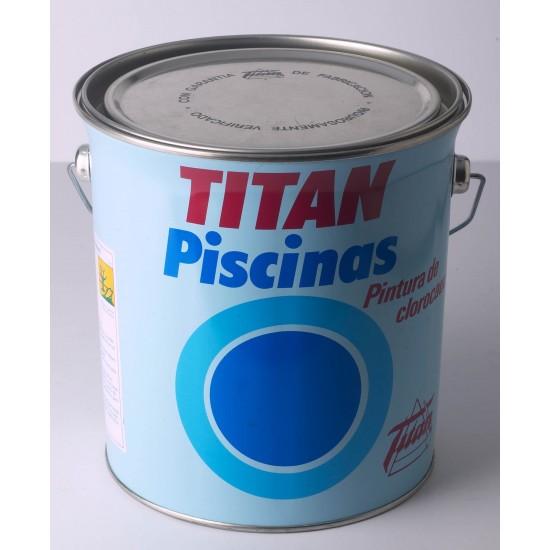 TITAN PISCINAS. Clorocaucho