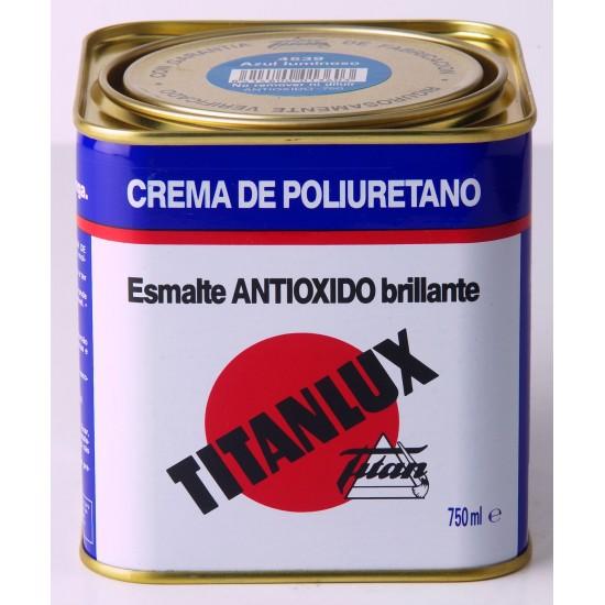 TITANLUX ANTIÓXIDO. Esmalte crema de poliuretano